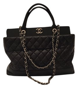 Chanel Shopping Diaper Tote in Black
