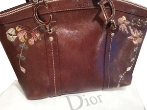 Dior Satchel in Dark Brown