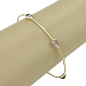 Ippolita (15182L) Ippolita Rock Candy Gelato Amethyst 18k Yellow Gold Bangle