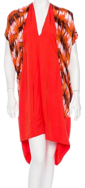 Preload https://item3.tradesy.com/images/zero-maria-cornejo-tangerine-charcoal-and-white-print-above-knee-short-casual-dress-size-2-xs-9054487-0-1.jpg?width=400&height=650