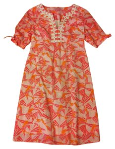 Lilly Pulitzer short dress Pink and Orange Preppy on Tradesy