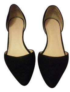 J.Crew Cute Simple Black Flats