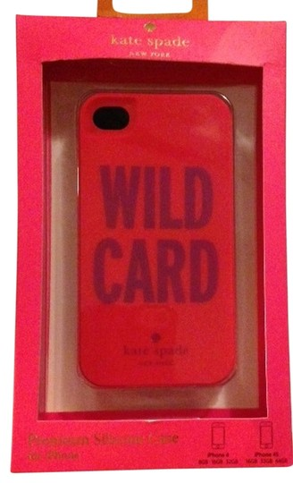 Kate Spade Kate Spade Wild Card Silicone case cover for iPhone 4/4S
