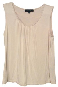 Lafayette 148 New York Sleeveless Non-smoking Home Top Blush