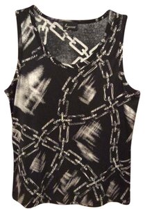 Lynn Ritchie Chain Fabri Non-smoking Home Top Black
