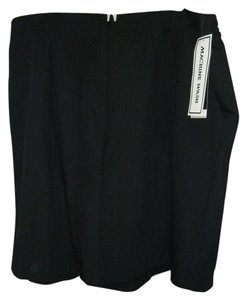 SAG HARBOR Mach Wash Sz 22w Bermuda Shorts BLACK