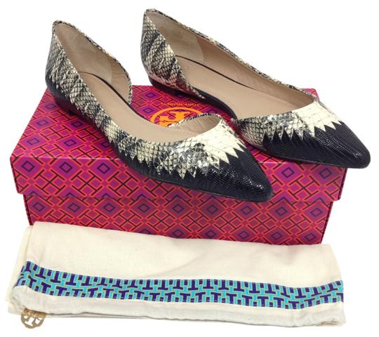 Preload https://item1.tradesy.com/images/tory-burch-snake-embossed-woven-leather-half-d-orsay-flats-size-us-9-9057280-0-1.jpg?width=440&height=440
