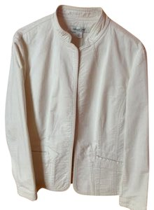 Coldwater Creek ivory Blazer