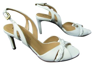 Valentino Garavani Open Toe Strappy white Pumps