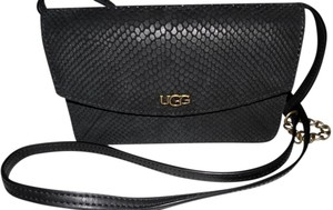 UGG Australia Suede Leather Cross Body Bag