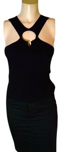 bebe Size X-small Stretchy Sleeveless P1856 Top black