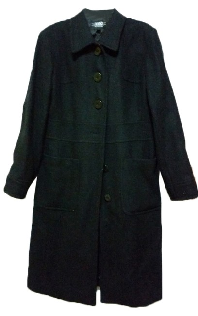 Preload https://item3.tradesy.com/images/b-moss-black-timeless-pea-coat-size-12-l-9058477-0-1.jpg?width=400&height=650