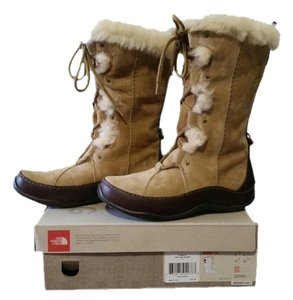 The North Face Winter Snow Weather Warm Brown Boots