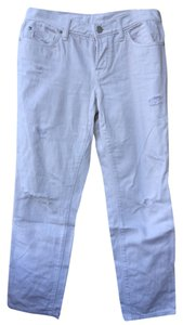 Ann Taylor LOFT Distressed Relaxed Fit Jeans