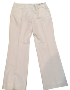 New York & Company Boot Cut Pants White