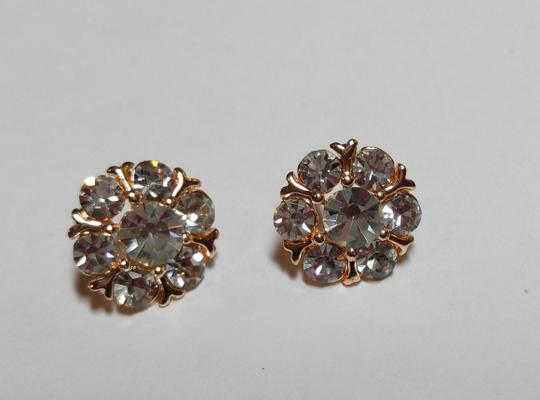 Other 14K Gold Filled Cubic Zirconia Stud Earrings New J1533