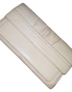 Coach Coach Wallet beige leather