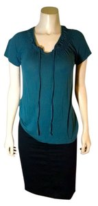 Mossimo Supply Co. Size Small Cap Sleeves P1862 Top Sea green