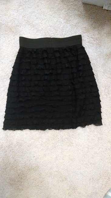Xhilaration Stretchy Bodycon Mini Skirt Black