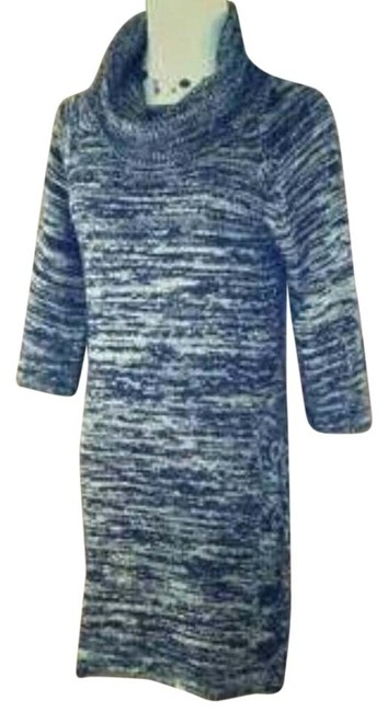 Preload https://img-static.tradesy.com/item/9060862/alyn-paige-black-and-gray-new-sweater-mid-length-workoffice-dress-size-10-m-0-2-650-650.jpg