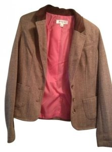 Isaac Mizrahi for Target Tweed with pink liner Blazer