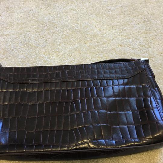 Anne Klein Brown Clutch