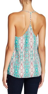 Collective Concepts Cami Large Top Teal Orange