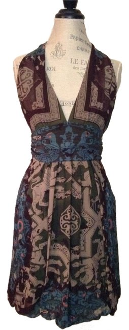 Preload https://item5.tradesy.com/images/nicole-miller-eggplant-taupe-and-green-halter-knee-length-night-out-dress-size-8-m-9061714-0-2.jpg?width=400&height=650