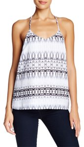 Collective Concepts Cami Large Top Black and White
