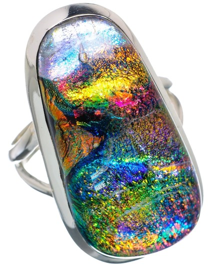 Preload https://item1.tradesy.com/images/dichroic-glass-925-sterling-silver-size-75-ring-9061960-0-1.jpg?width=440&height=440