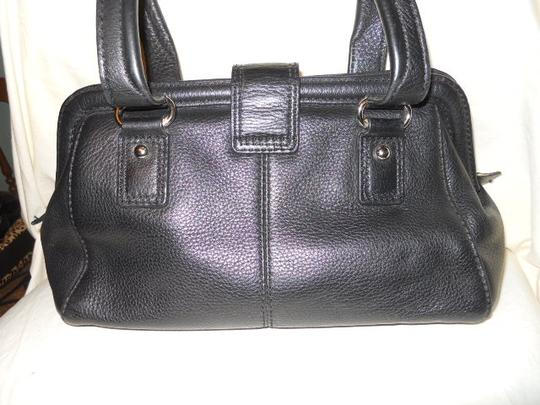 Talbots Leather Satchel in black