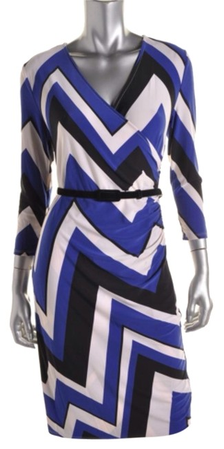 Preload https://item2.tradesy.com/images/ralph-lauren-blue-white-style-number-201524032001-knee-length-workoffice-dress-size-petite-8-m-9062041-0-2.jpg?width=400&height=650