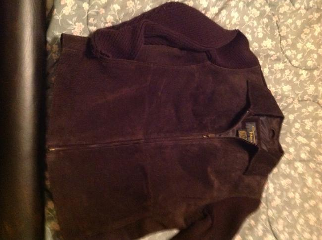 Vanio Brown Leather Jacket