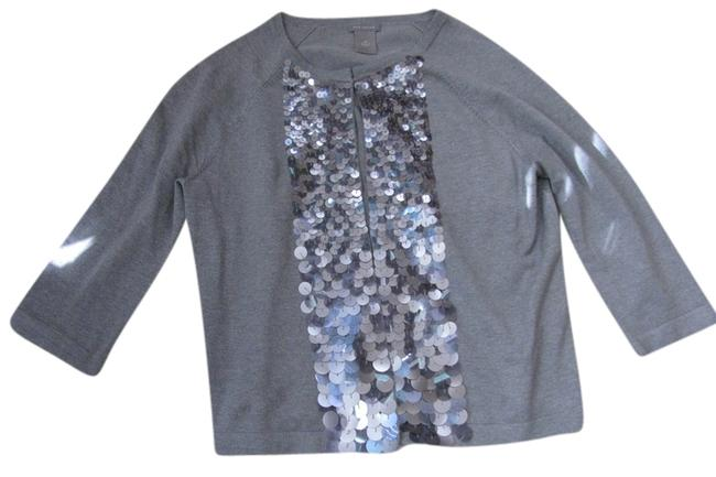Preload https://item5.tradesy.com/images/ann-taylor-gray-sweaterpullover-size-8-m-9063004-0-2.jpg?width=400&height=650