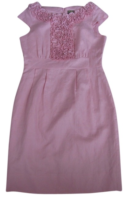Preload https://item3.tradesy.com/images/taylor-pink-knee-length-cocktail-dress-size-6-s-9063157-0-2.jpg?width=400&height=650
