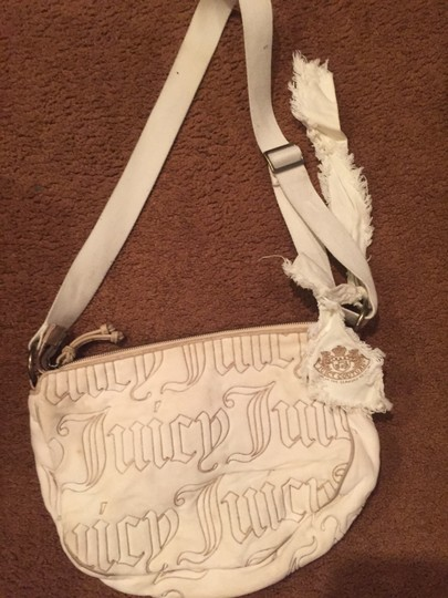 Juicy Couture Love Handbag Velour Cute Shoulder Bag
