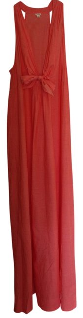 Preload https://item5.tradesy.com/images/jcrew-coral-long-casual-maxi-dress-size-0-xs-906344-0-0.jpg?width=400&height=650