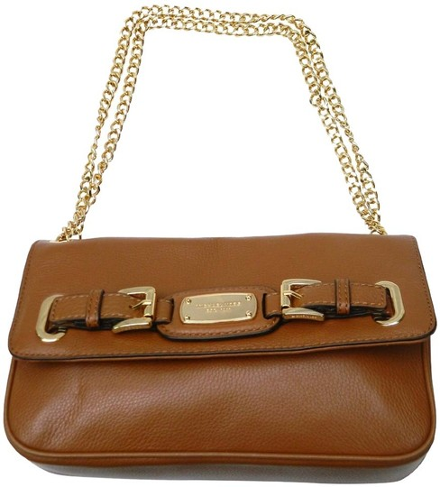Preload https://img-static.tradesy.com/item/9063505/michael-kors-hamilton-small-chain-luggage-brown-leather-shoulder-bag-0-2-540-540.jpg