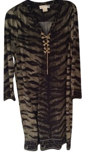 Michael Kors Animal Print Mk 1x Work Dress