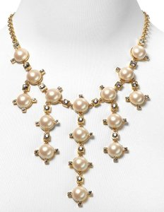 Kate Spade Kate Spade Metropolitan Pearls Necklace NWT RARE! Exquisite Crystal Accents Sparkle & Dance Around Beautiful Pearl Display!