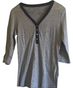 Banana Republic Top Blue stripe