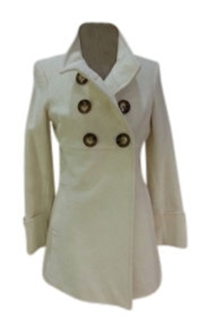 Preload https://item5.tradesy.com/images/anne-klein-white-high-collar-pea-coat-size-8-m-9064-0-0.jpg?width=400&height=650
