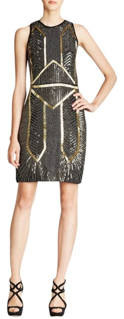 Preload https://item2.tradesy.com/images/nicole-miller-black-gold-cocktail-knee-length-night-out-dress-size-4-s-9064111-0-3.jpg?width=400&height=650