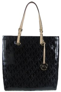 Michael Kors Mk Mk Purse Tote in Black