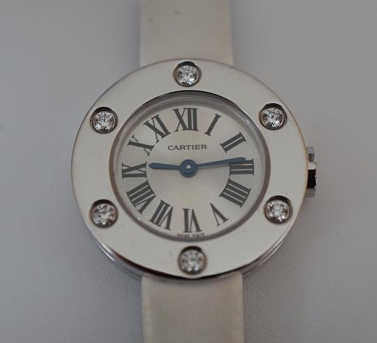 Cartier Cartier Leve Love Watch with 6 Diamonds 18K White Gold
