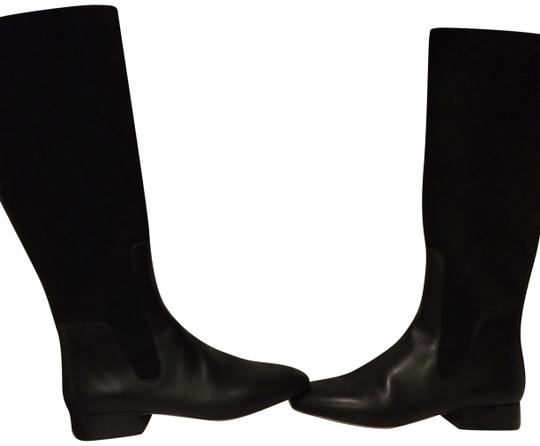 Preload https://item2.tradesy.com/images/chloe-black-earnesto-tall-leather-and-suede-bootsbooties-size-us-65-regular-m-b-9064471-0-5.jpg?width=440&height=440