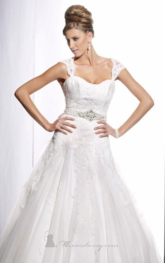 Preload https://item2.tradesy.com/images/christina-wu-ivory-netting-with-lace-applicae-15496-traditional-wedding-dress-size-10-m-9064891-0-0.jpg?width=440&height=440