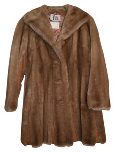 Vintage Faux Fur Fur Coat