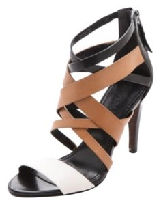 Vera Wang Lt Cream, Tan & Black colorblocking Pumps