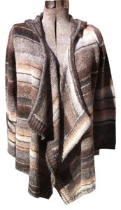 Michael Kors Wool Alpaca Hooded Sweater